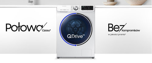 Samsung QuickDrive WD90N644OAW / fot. Samsung