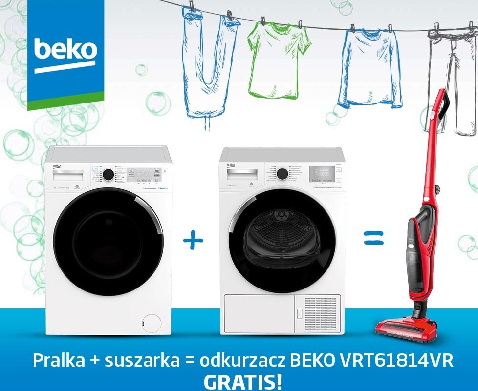 Beko: pralka + suszarka = odkurzacz gratis / fot. Media Expert