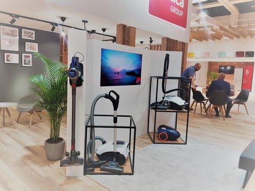 Amica na IFA 2019: strefa prezentacji odkurzaczy / fot. techManiaK