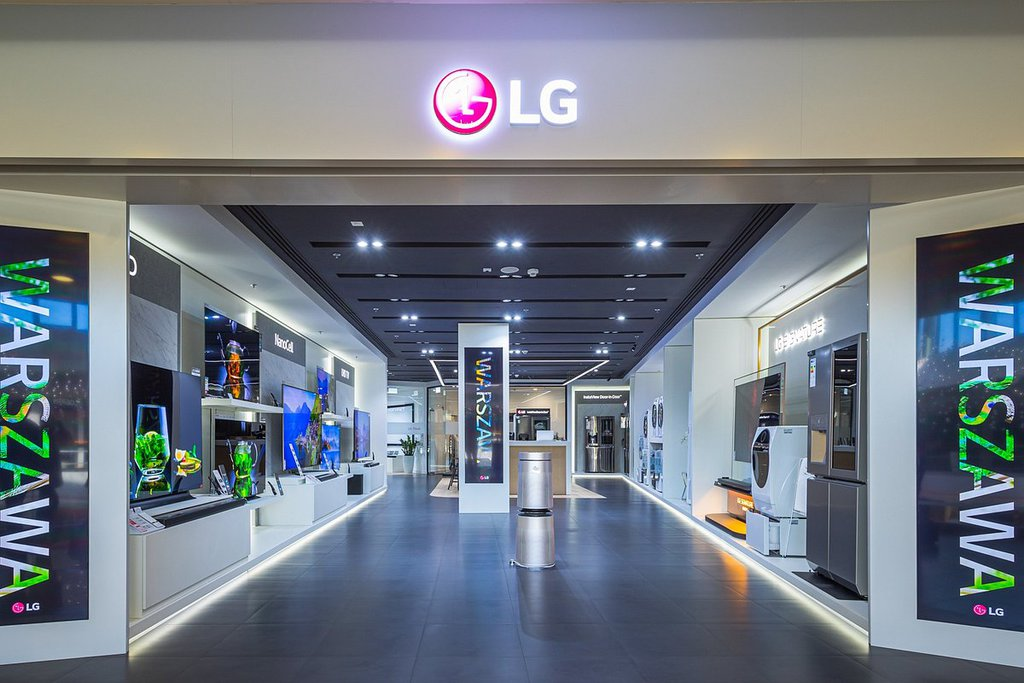 LG Brand Store Warszawa / fot. LG