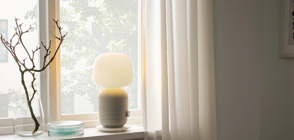 Ikea SYMFONISK lampa z Wi-Fi / fot. Ikea
