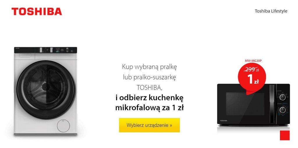 Promocja w ME - mikrofalówka Toshiba za 1 zł / fot. Media Expert