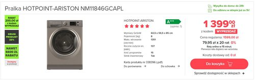 HOTPOINT-ARISTON NM11846GCAPL