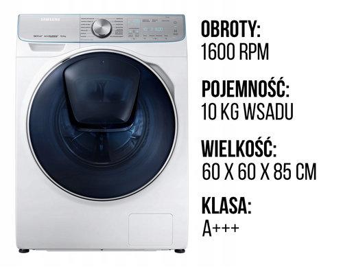 Specyfikacja Samsung WW10M86INOA