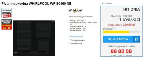 Whirlpool WF S0160 NE / fot. agdManiaK