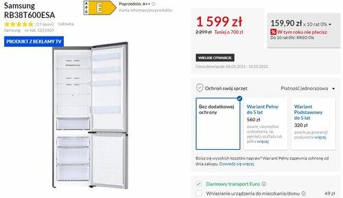 Samsung RB38T600ESA