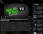 aplikacja społecznościowa czytnik RSS TechCrunch