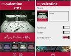 aplikacje na walentynki Płatne Walentynki Windows Phone 8