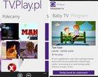 aplikacje dla windows phone Darmowe usługa VoD na Google Android usługa VoD na Windows Phone VOD