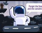 bieganie Darmowe koń emo kosmici kosmiczny zjazd kosmos runner T-rex Windows Phone 8