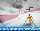 Darmowe narciarz narty sporty zimowe stok wyścigi narciarskie zima