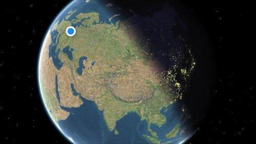 Jak Podejrzeć Aktualne Oświetlenie Ziemi W Mapach Applea