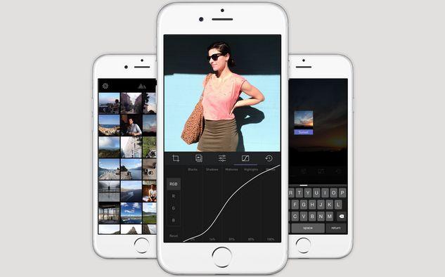 Darkroom dla iOS / fot. Darkroom