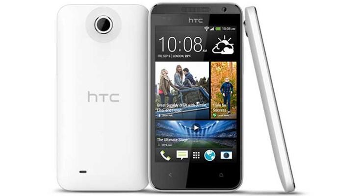 HTC Desire 610 z ekranem BlinkFeed / fot. HTC