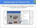 aktualizacje App Store Gmail google cod google sheets google slides iOS