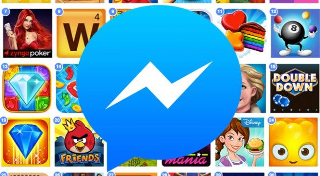 Facebook Messenger Games / fot. Facebook