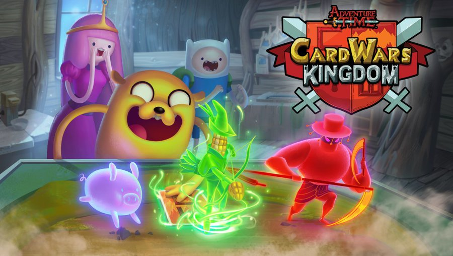 Adventure Time Card Wars Kingdom już do pobrania