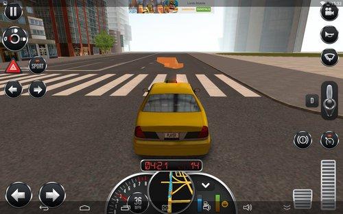 Taxi Sim 2016 / fot. appManiaK.pl