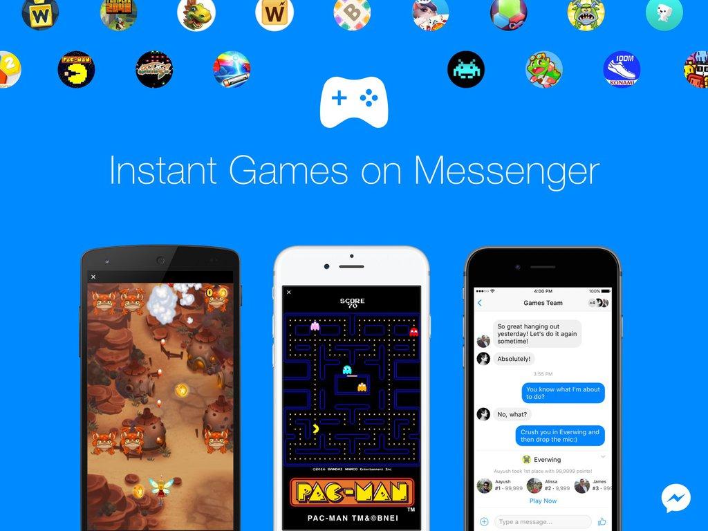 Instant Games / fot. Facebook