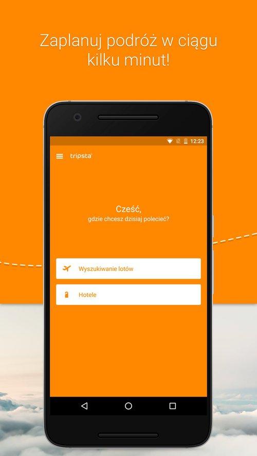Aplikacja tripsta.pl na Androida