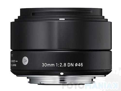 Sigma A 30 mm F2.8 DN / fot. Sigma