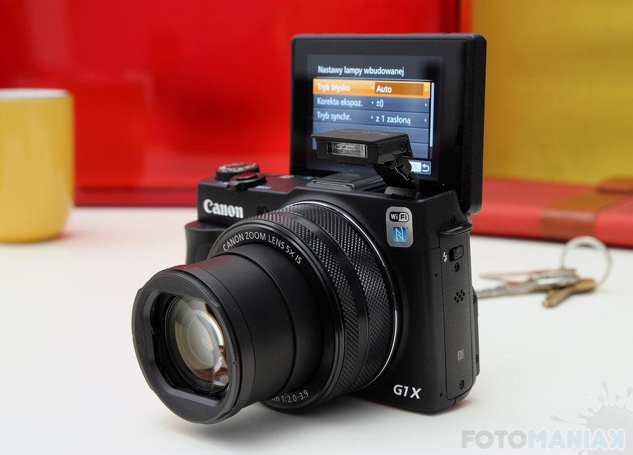 Canon PowerShot G1x MK II / fot. fotoManiaK.pl