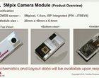 5 megapikseli - pierwszy moduł fotograficzny Projektu Ara