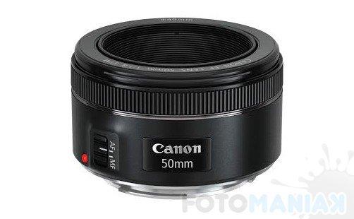 Canon EF 50 mm f/1,8 STM / fot. producenta