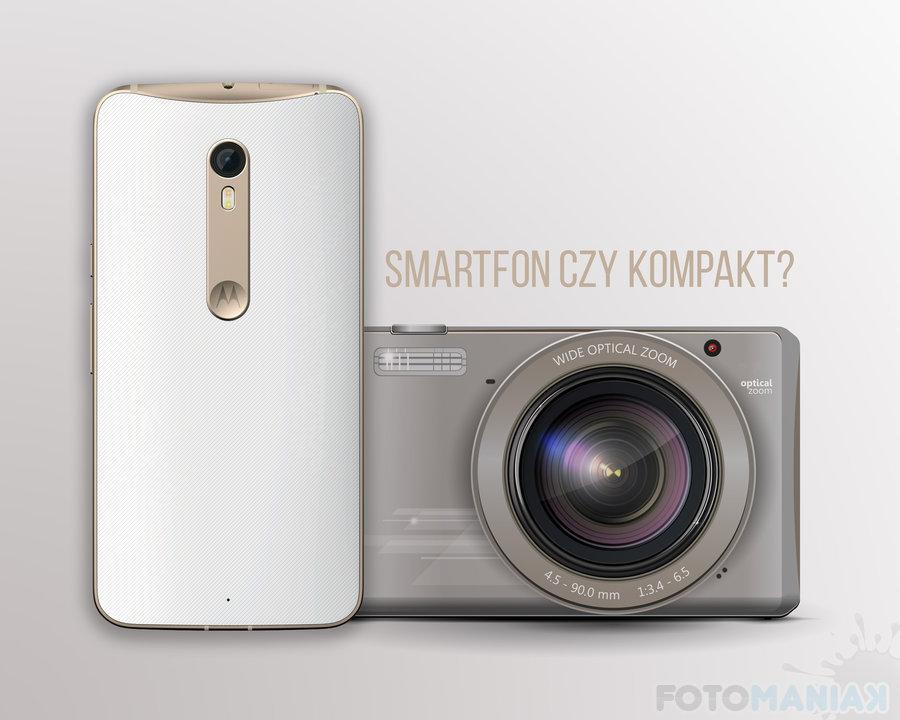 Smartfon czy kompakt