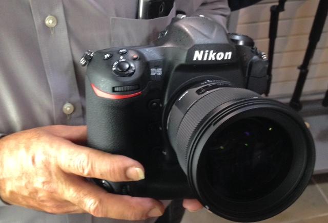 Aparat Nikon D5/fot.  jml2