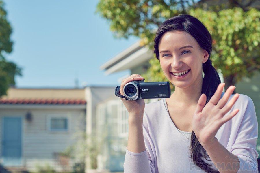 Sony Handycam HDR-CX450 / fot. producenta