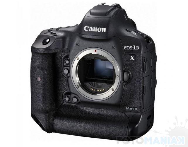 Najbardziej zaawansowany model producenta - Canon EOS-1D X Mark II