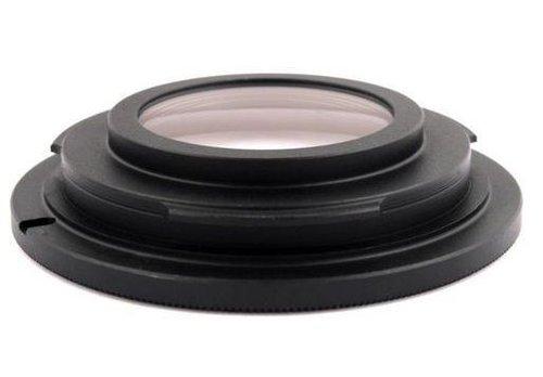 Adapter dla Nikona musi być wyposazony w soczewkę, żeby mógł ostrzyć do nieskończoności./fot. nokaut.pl