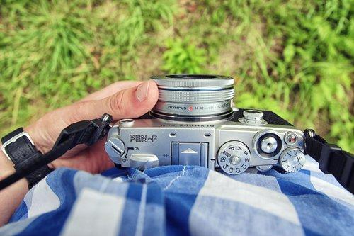 Olympus PEN-F/fot. fotoManiaK.pl