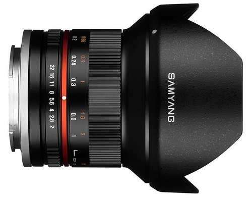 Samyang 12 mm f/2.0 NCS CS