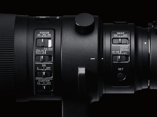 Sigma S 500 mm f/4 DG OS HSM