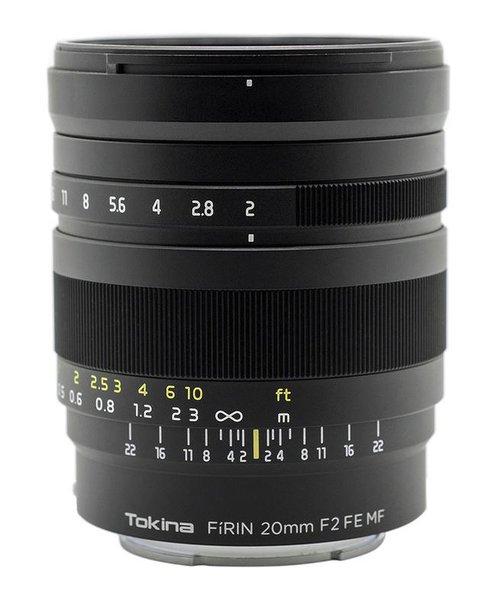 Tokina Fírin 20 mm f/2 FE MF