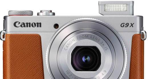 Canon PowerShot G9 X Mark II / fot. informacje prasowe