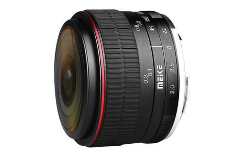 Meike 6.5 mm f/2.0 Fisheye