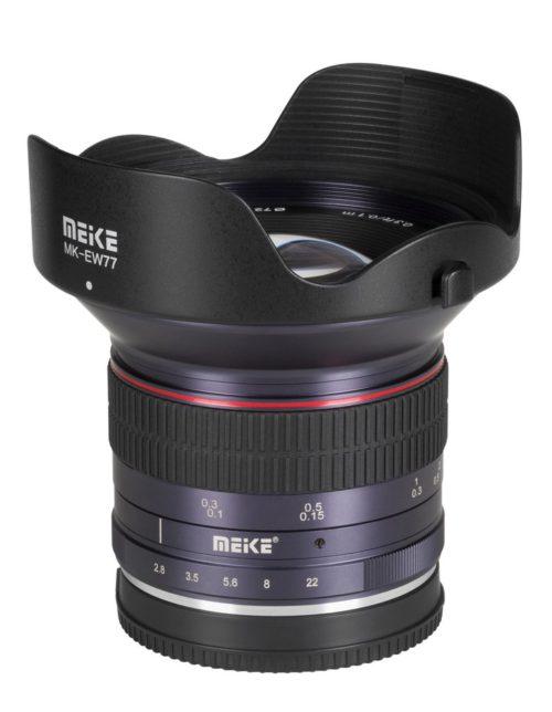 Meike MK-12mm F2.8 / fot. informacje prasowe