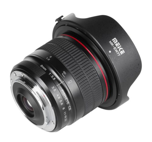 Meike MK-8mm F3.5 / fot. informacje prasowe