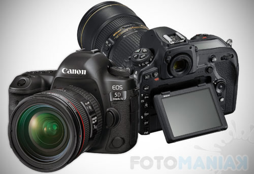 Nikon D850 czy Canon 5D Mark IV