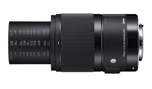 Sigma A 70 mm f/2.8 DG Macro