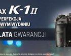 Pentax K-1 II z gwarancją na 3 lata