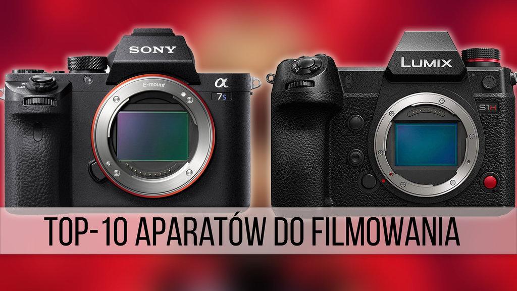 top10 aparaty filmowanie