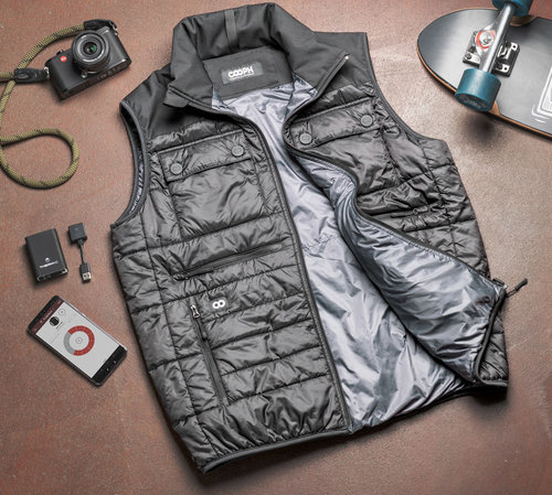Cooph Heatable Photo Vest