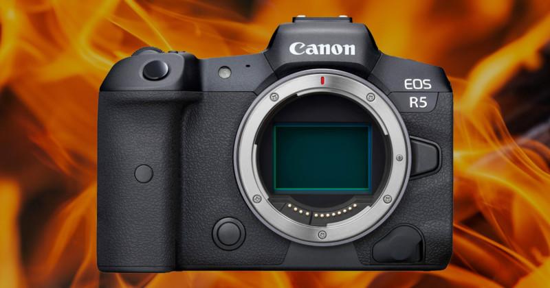 Przegrzewanie się canon R5