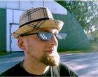 8-bitowe okulary gadżet lans okulary okulary przeciwsłoneczne
