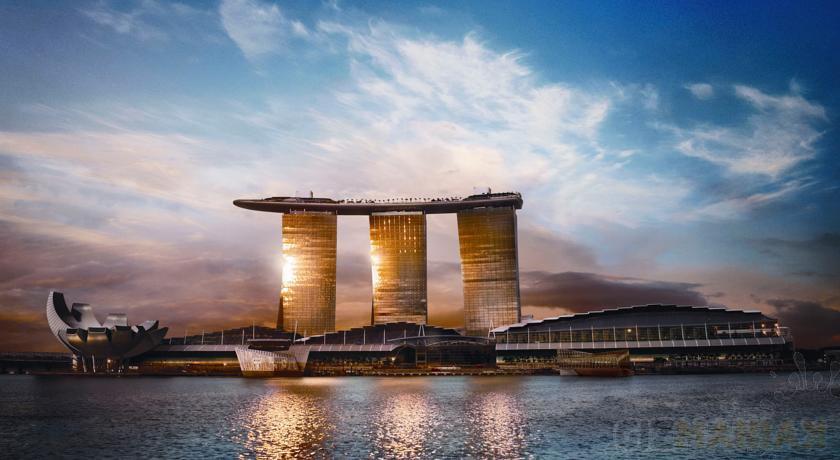 Marina Sands Bay to jeden z najbardziej niezwykłych budynków świata