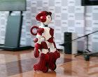 Ten robot pomaga podróżnym na lotnisku w Tokio